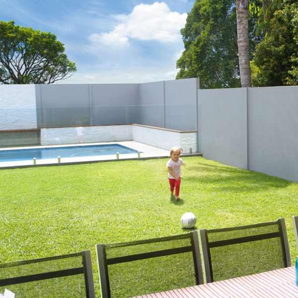 slimwall acoustic noise reducing barrier fence panels